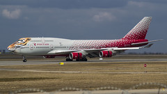 EI-XLD Rossiya - Russian Airlines Boeing 747-446 (Nathan_Ivanov) Tags: aicraft airplane vko vnukovo uuww spotting boeing boeing747