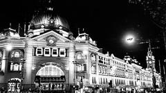 Flinders Station (akhilmallela) Tags: nightlife people nightpotrait railwaystation flinders melbourne