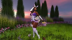 EASTER CANDY BUNNY (Lichy L0ve) Tags: easter candy bunny eggs flowers ears cute sexy kawaii hud mesh outfit costume contest clothes women boots shoes heels bodysuit garter gloves appliers maitreya belleza slink hourglass venus isis freya fantasy irrisistible shop roleplay rp fancy sl secondlife second life