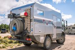 Bimobil Unimog 2 (Brad Prudhon) Tags: 1023 2018 arizona ateco bimobil fredonianationalpark grandcanyon mercedes northrim october camper rv scenic