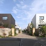 住宅街区の写真
