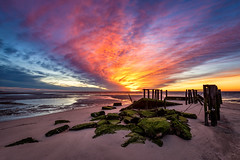 Cooks Beach, New Jersey (Dante Fratto Photography) Tags: capemay capemaycourthouse cooksbeach delawarebay jerseyshore newjersey southjersey sunrise water color wwwdantefrattocom wwwdantefrattophotographycom