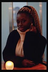 Diarra (TheJennire) Tags: photography fotografia foto photo canon camera camara colours colores cores light luz young tumblr indie teen adolescentcontent nowunited diarrasylla 2018 toronto canada celebrity winter fashion braids people makeup