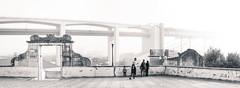 Santo Amaro, Lisbon, December 27, 2018 (Ulf Bodin) Tags: lisbon canonrf50mmf12lusm mist streetphotography outdoor portugal ponte25deabril bro lisboa santoamaro bridge canoneosr fog family lissabon 25deabrilbridge urbanlife pt