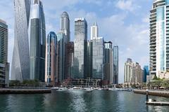 Dubai Marina (JarkkoS) Tags: 2470mmf28eedafsvr building d850 dubai dubaimarina highrise skyscraper uae