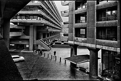 C52-18 1975 Brutalism (hoffman) Tags: housing architecture brutalist brutalism city urban london outdoors street barbican brunswickcentre londonwall concrete davidhoffman wwwhoffmanphotoscom
