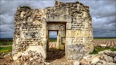 Les ruines d'un vieux moulin à vent (patrick_step) Tags: ruines sonyilce7m3 vigne ciel sky moulinàvent windmill pierre