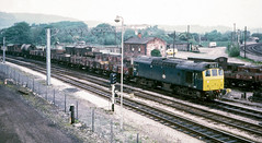 25207 at Carnforth (robmcrorie) Tags: kodachrome 1975 1970s class 25 25207 carnforth freight 7g23