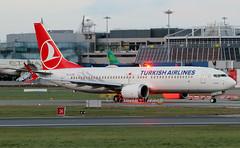TC-LCB (Ken Meegan) Tags: tclcb boeing737max8 60033 turkishairlines dublin 1032019 boeing737 max boeing 737 b737 thyturkishairlines thy max8