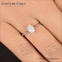 Natural 0.21 Ct. Diamond Pave Ring Solid 18k White Gold Handmade Wedding Jewelry (couturechics.facebook1) Tags: natural 021 ct diamond pave ring solid 18k white gold handmade wedding jewelry
