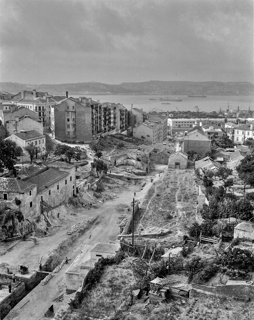 Cova da Moura, Pampulha, 1949. Roiz, in archivo photographico da C.M.L.