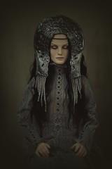 dream guardian (dolls of milena) Tags: bjd resin doll natalie whispering grass portrait kokoshnik
