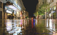 A Little Drop Of Rain Will Fall........ (law_keven) Tags: france lyon water reflections street streetphotography photography rain