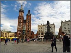 Kraków (Poland)-Cracovia (Polonia) (sky_hlv) Tags: stmarysbasilica basílica basílicadesantamaría church iglesia templo kraków krakow cracovia poland polonia europe europa rynekgłówny plazadelmercado plaza square