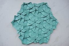 DSCN9184 (Arseni Ko) Tags: origami tesselation pattern paper design symmetry geometry