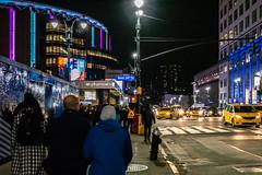 Last Shot I Took in New York City (Jocey K) Tags: sonydscrx100m6 triptocanadaandnewyork architecture street people trainstation newyorkcity pennstation illuminations signs billbroads