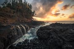 Queen's Bath (sberkley123) Tags: princeville tidefall kauai nikon sunset streams z7 ocean tidepool pacific longexposure usa hawaii 1424mm queensbath