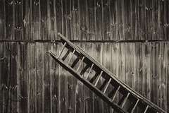 Wooden photo (Jerzy Durczak) Tags: ladder barn
