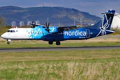 ES-ATA_01 (GH@BHD) Tags: esata atr atr72 atr72600 nordica bhd egac belfastcityairport turboprop aircraft aviation airliner