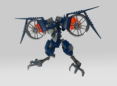 The Cr0w (JakTheMad) Tags: lego moc bird bionicle afol tfol crow squark