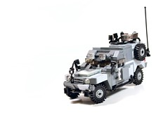 """""""Margay"""" MKII --- View 3 (TierMR) Tags: war guns military model recon scout vehicle"""
