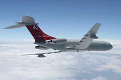 VC10 C1K XV104 101 Squadron (Mark McEwan) Tags: vickers vc10 vc10c1k xv104 101squadron raf royalairforce aerialrefuelling tanker aircraft aviation airplane military northsea airbornerefuelling aar airtoairrefuelling 40years