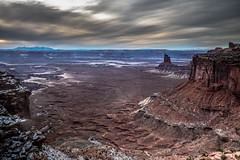 Canyonlands National Park, Utah (paccode) Tags: solemn winter utah forgotten landscape desert clouds canyon nationalpark hills serious d850 quiet mesa sunset mountain moab unitedstates us