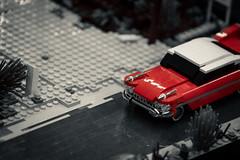 Polished (GH#Photography) Tags: canon eos 80d lego auto cadillac eldorado schwarzweis rot sin city plastik spielzeug bauen kontrast glanz fahrzeug