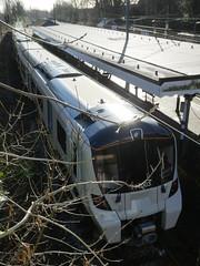 717003-GordonHill-P1531411 (citytransportinfo) Tags: 717003 siemens desirocity train railway greatnorthern station gordonhill sunshine winter class717