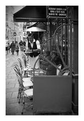 Coffee time (madras91) Tags: nb noiretblanc blackandwhite bw monochrome street streetphotography mtyp240 leicam leica m240 summicron35mmf2v3 summicron paris café