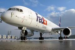 N943FD FedEx Express 757-2G5 in KCLE (GeorgeM757) Tags: n943fd fedexexpress federalexpress 757f 7572g5 kcle georgem757 clevelandhopkins aircraft aviation airport boeing