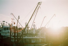 even more (nondirectional) Tags: golden hour sunshine analog time sunset fisherman ship sea blacksea