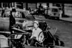 """""""Au-delà du regard"""" (leguen.maxime) Tags: automobile voiture 2019 salon mécanique phares couleur noir et blanc histoire photo film defunès bourville"""