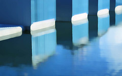 boathouses (losy) Tags: blue ocean boathouses losyphotography