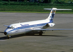 EC-CGO DC-9-32 (Irish251) Tags: aviaco dc9 dc932 dub eidw dublin airport eccgo