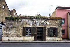 The Tram Store, Clapton (London Less Travelled) Tags: uk unitedkingdom britain england london eastlondon hackney city urban suburb suburban suburbia clapton tram tramstore bar cafe depot brick