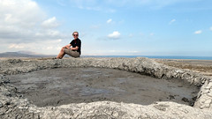 Mud volcanos of Gobustan (LeelooDallas) Tags: asia europe azerbaijan gobustann petroglyph landscape desert dana iwachow dragoman overland silk road trip september 2018 rock mud volcano