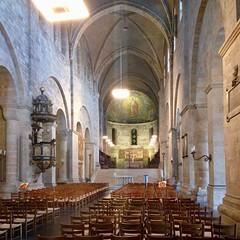 Lunds domkyrka ([klauspeter]) Tags: kirche kyrka lund schonen schweden sverige sweden church apsis cathedral dom domkyrka domkirke klauspeter iphone august 2017 romanisch romanic
