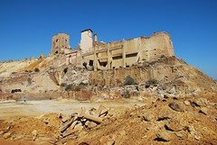 mines 2 L (Mark Stocks ~ Vistas de Murcia) Tags: mazarron murcia vistasdemurcia industry mines mining landscape costacalida outside old red orange industrial earth españa spain mazarrón ruin remains abandoned environment destruction mankind nature empty