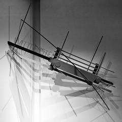 Philosophical fetish (2018) - Ângela Ferreira (1958) (pedrosimoes7) Tags: ângelaferreira philosophicalfetish artarchitectureandtechnologymuseum maat belem lisbon portugal sculpture escultura blackandwhite blackwhite museu musée museum