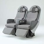 航空機用座席の写真