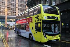 33212 SK68LXA First Glasgow (busmanscotland) Tags: 33212 sk68lxa first glasgow sk68 lxa ad adl alexander dennis e40d enviro400 enviro 400