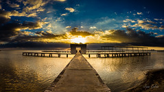 Santiago de la Ribera (Juan Galián) Tags: mar marina murcia marmenor mediterranean mediterraneo spain sky seascape sea landscape litoral laguna water agua amanecer paisaje playa embarcaddero