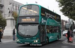 Dublin Bus VG37 (09D2127). (Fred Dean Jnr) Tags: busathacliath dublinbus dublinbusroute747 shill volvo b9tl wright eclipse gemini vg37 09d2127 oconnellstreetdublin november2013 airlink