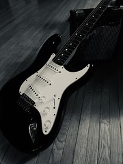 Stratocaster (crazy1ion) Tags: amp guitar stratocaster