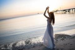 DSC_7556 (Robin Huang 35) Tags: 謝立琪 kiki 沙巴 sabah 馬來西亞 malaysia 迪加島 生還島 island 海灘 沙灘 海邊 beach 裸紗 遊拍 人像 portrait lady girl nikon d850 menumbok my