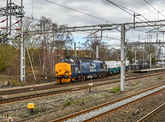 37423 at Lichfield (robmcrorie) Tags: 37423 lichfield trent valley chord shire brook wh david crewe nuclear flask 1z10 staffordshire nikon d850