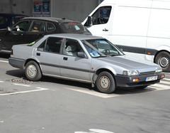 An Honda Accord III (1985-1989) looking for its former glory, Arcueil-Cachan 2019-03-20 (alaindurandpatrick) Tags: honda hondaaccord japanesecars japaneseveterancars veterancars collectors arcueilcachan 92 hautsdeseine iledefrance greaterparisarea france