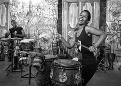 Habana Compas Dance (michael.mu) Tags: 35mm cuba havana leica dance yellowfilter leicasummicronm1235mmasph drum habanacompasdance blackandwhite bw