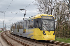 Metrolink 3063 (Mike McNiven) Tags: manchester metrolink tram metro lightrail lrv wythenshawe baguley manchesterairport airport victoria marketstreet